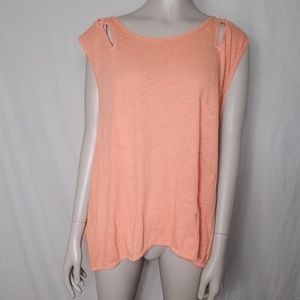 Free People We The Free Peach Tank Top